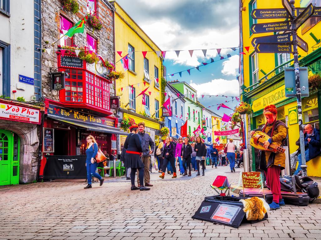 Galway - Sự khác biệt của Thủ đô văn hóa của châu Âu